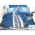 3D спално бельо 1+1 безплатно - Hello Dubai + Husky