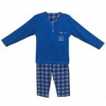 Детска пижама в синьо Карлито 128см 6-7 години