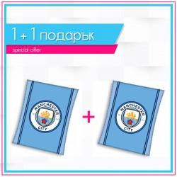 Детско висококачествено одеяло 1+1  Manchester City