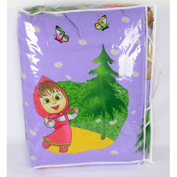 Олекотена Завивка за деца Червената Шапчица – 100% Памук