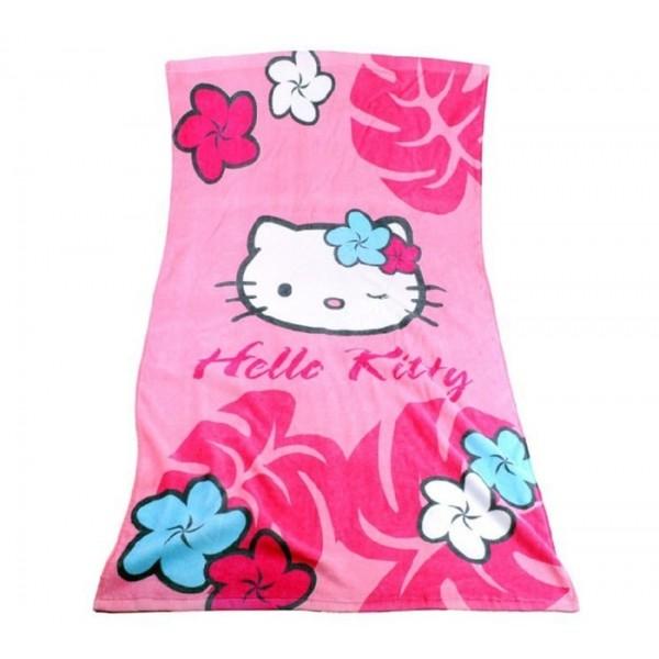 Кърпа за плаж - тема Здраяей Кити