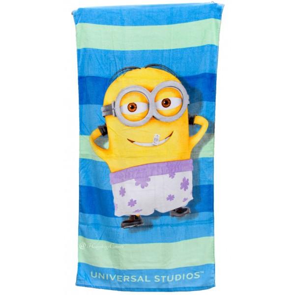 Кърпа за плаж с образ на миньон