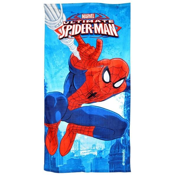 Кърпа за плажа с декор Спайдърмен