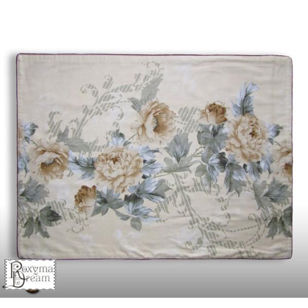 Красива Калъфка за възглавница Роза 100 % памук