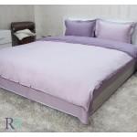 ДВУСТРАНЕН Спален комплект в нюанси цвят ЛИЛАВ – Памучен сатенПамучен сатен