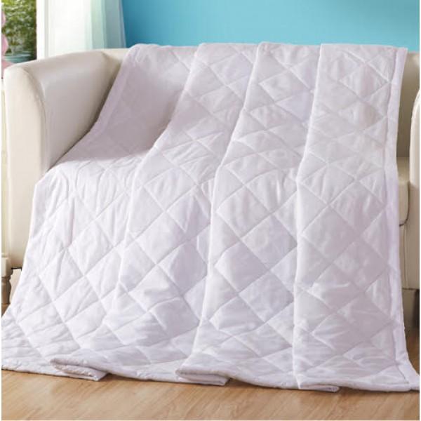 2В1 Бяло шалте или лятна олекотена завивка